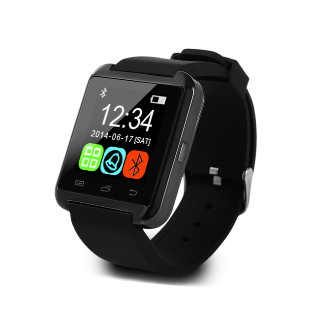 Wholesale U8  watch Bluetooth smart watch Passometer Remote camera Import PC ABS alloy plastic For Android XIAOMI MEIZU IOS