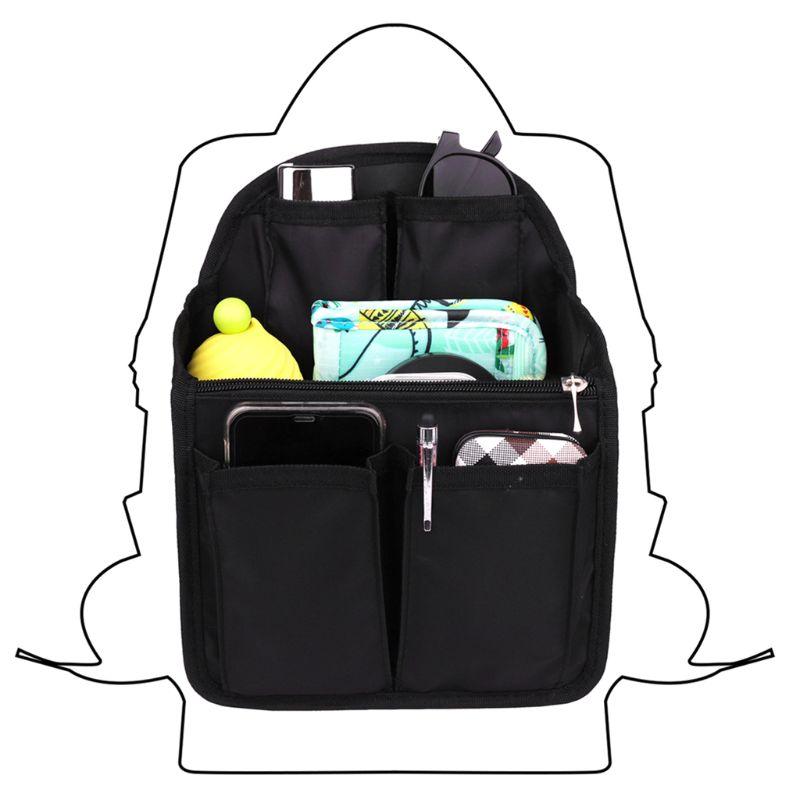 1Pc Backpack Insert Organizer Bag Gadget Multi-Pocket Handbag Pouch Case Storage Organizer New