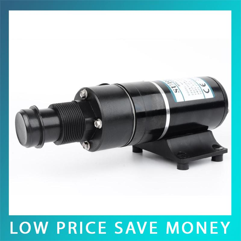 MP-4500 DC 24V/12V Macerator Sewerage Waste Water Pump Centrifugal Bilge Sewage Pump Small Self-Suction Pump mp 4500 24 24v dc sewage macerator pump 45l min centrifugal water pump bilge sewage pump