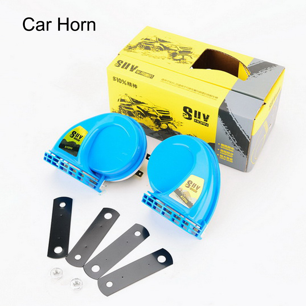 High quality waterproof SUV high and low tone Horncar with its horns blaring Blues automotive waterproofs motorcycle speakers