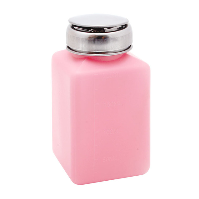 New 1Pc Empty Pump Dispenser Container Cleaner Nail Polish Remover ...