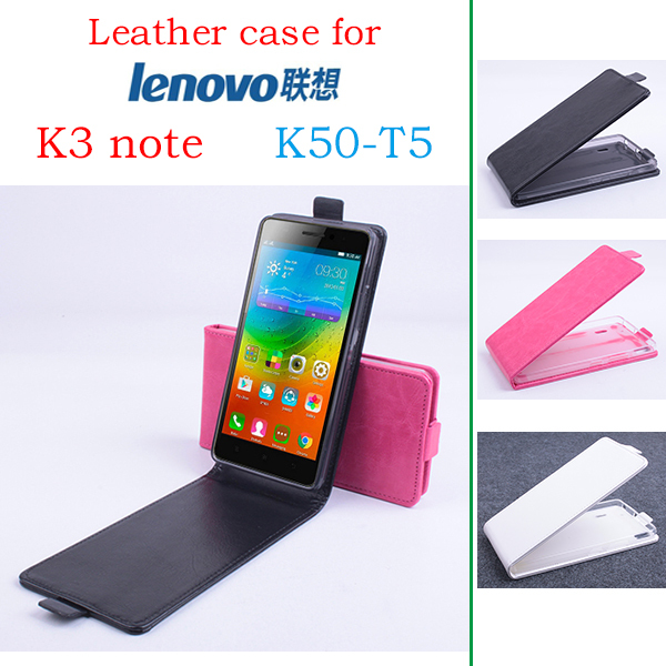 online retailer cf995 7dc8d US $4.74 5% OFF|High Quality New Original For Lenovo K3 note K50 T5 Leather  Case Flip Cover for Lenovo K3 note K50 T5 Case Phone Cover In Stock-in ...