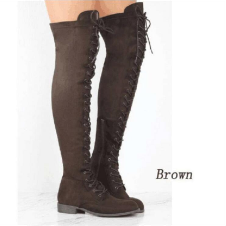 e1d0f8957f2 Thigh-High-Boots-Female-Winter-Boots-Women-Over-the-Knee-Boots-Flat-Stretch -Cross-straps-Sexy.jpg