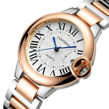 Contena Luxury Brand Watch Women Datejust Watches Silver Sta