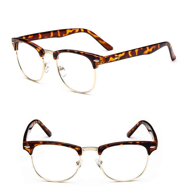 Brand Design Eyewear Frames Eyeglasses eye glasses frames for Men Male Women Eyeglasses UV Sports Computer Plain spectacle frame (19)