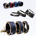 5 color Gold Silver Red Black Blue Metal Mount Auto Focus AF Macro Extension Tube For Canon EF-S Lens 5D4 6D 7D T5i T4i T3i 1100
