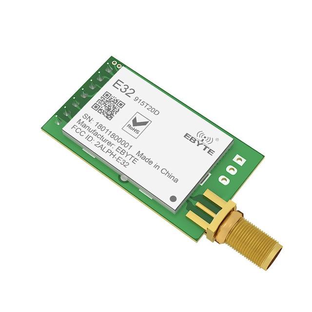 10 pz/lotto LoRa 915MHz SX1276 SX1278 E32 915T20D rf Transceiver Modulo Wireless 915 Mhz rf Trasmettitore Ricevitore