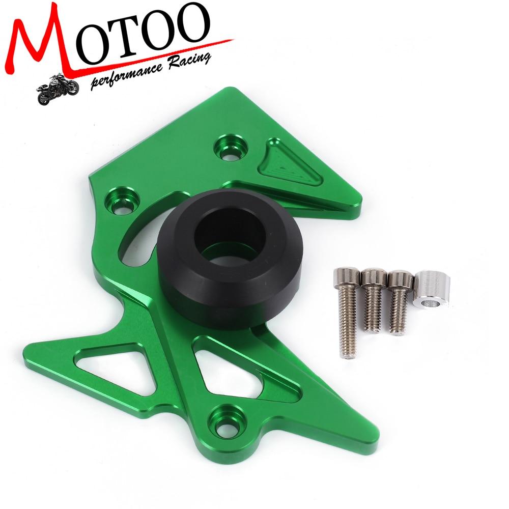 Motoo-accesorios de motos protector delantero cubierta del piñón de cadena de cu