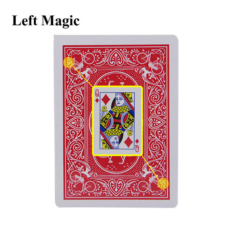 Carte di Magic Segnato Stripper Deck Carte Da Gioco Poker Trucchi di Magia Close-up Street Magic Trucco Del Capretto Del Bambino di Puzzle Del Giocattolo g8277