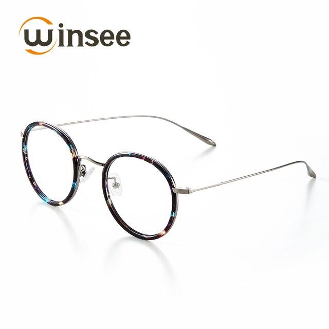 TR90 retro pria setengah bingkai kaca mata rak frame kacamata. Source ·  Winsee Kecil Ran 2231ebea8d