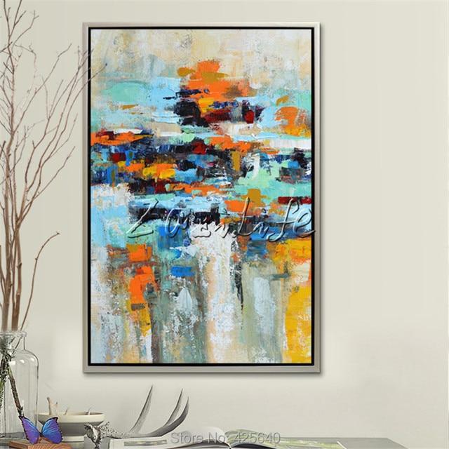Cuadros de pintura abstracta moderna finest pinturas - Cuadros pintura acrilica moderna ...