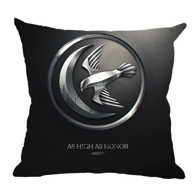 Game Of Thrones Houses Throw Pillow