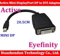 Frete grátis Visita Mini DisplayPort DP para DVI Single Link adaptador Suporte ATI Eyefinity 1080 uso de cabo para vídeo HD5870 cartão