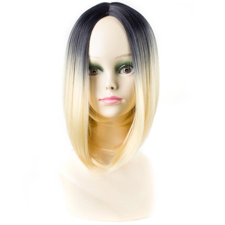 ELEGANT ΜΟΥΣΕΣ 10 ιντσών συνθετική Ombre - Συνθετικά μαλλιά - Φωτογραφία 2