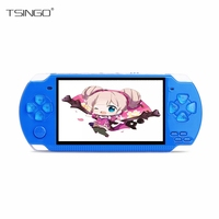 Dikdoc X6 Handheld Game Player 8GB 4.3'' 32Bit Built In 1000+ Childhood Classic Games TV Output Portable Video Game Console