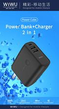 WIWU Portable Power Bank Charger 5000mAh Adapter Dual USB Mobile Phone External Battery Fast Charge For iphone