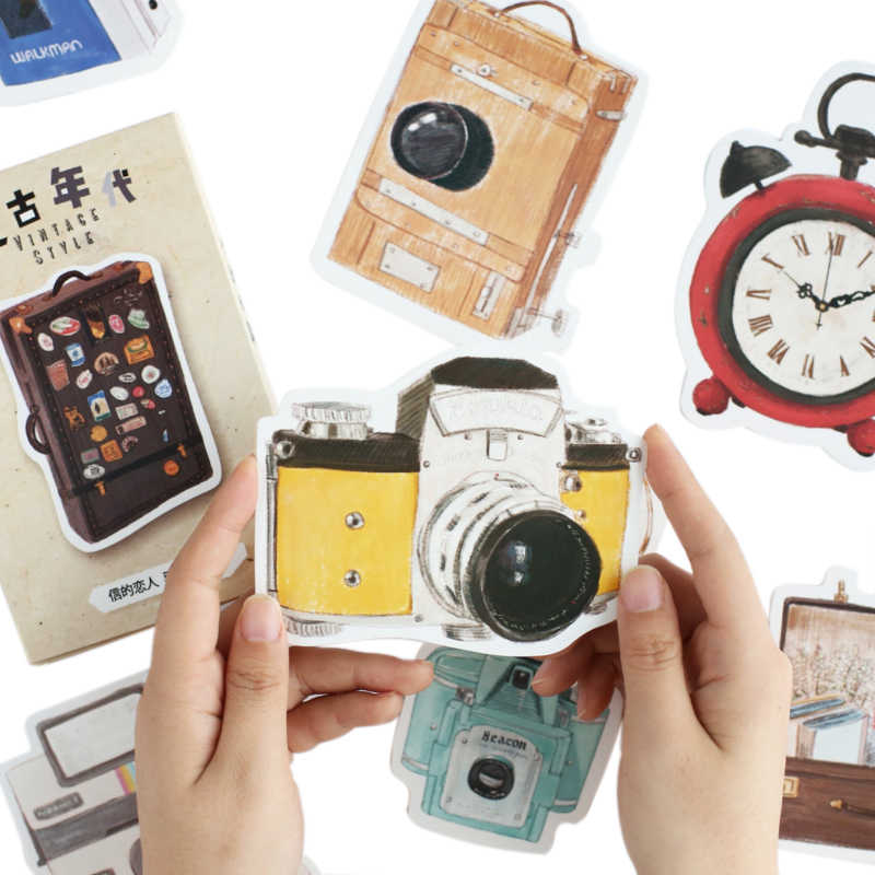 30 pcs/pack Vintage Era Story Camera Greeting Card Postcard Birthday Letter Paper Retro Envelope Gifts Message Cards Set