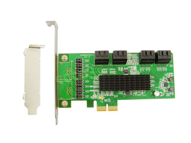 Prix pour Marvell Chipset 8 Ports SATA 6 GB PCI Express Carte Contrôleur PCI-e à SATA 3.0 Converter Prend En Charge NCQ et Port Multiplicateur SIF