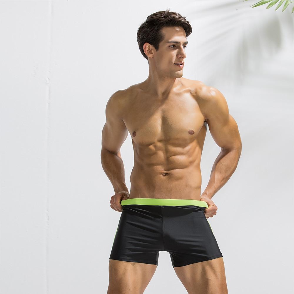 Fox Mens Quick Dry Boxer Briefs Swimwear Shorts Trunks Swimsuit