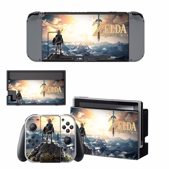 Nintend Switch Vinyl Skins Sticker For Nintendo Switch Console and Controller Skin Set - For The Legend of Zelda 2