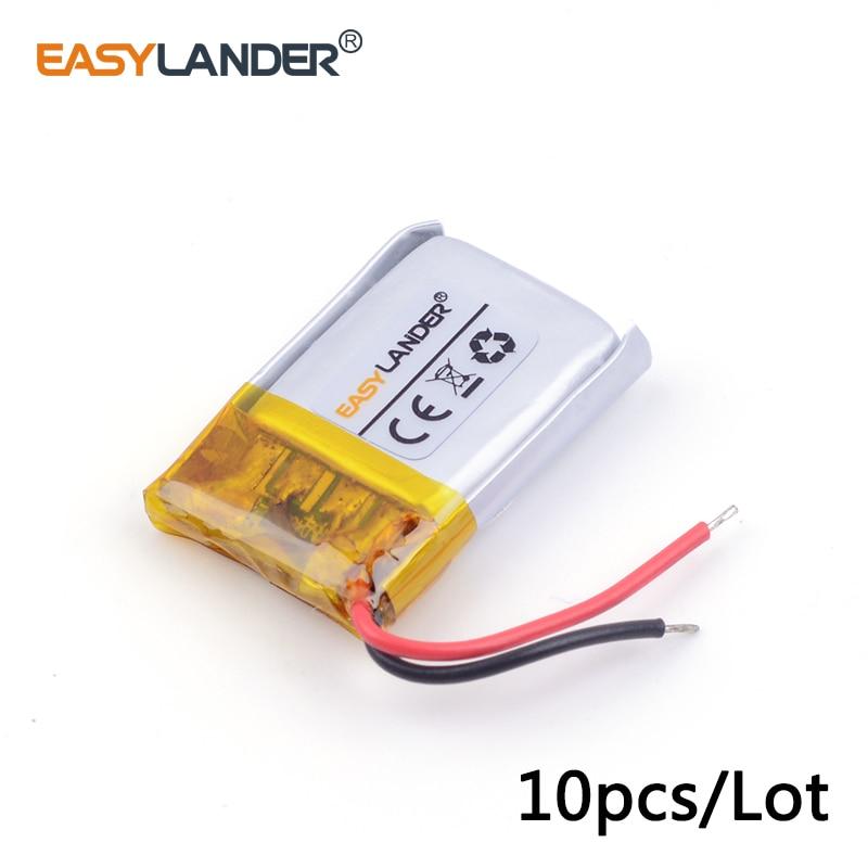 10 шт./лот 3.7 В литий-ионный полимерный аккумулятор 401517 70 мАч для MP3/4/5 <font><b>Bluetooth</b></font> Наушники <font><b>battery</b></font> <font><b>Monitor</b></font> 041515