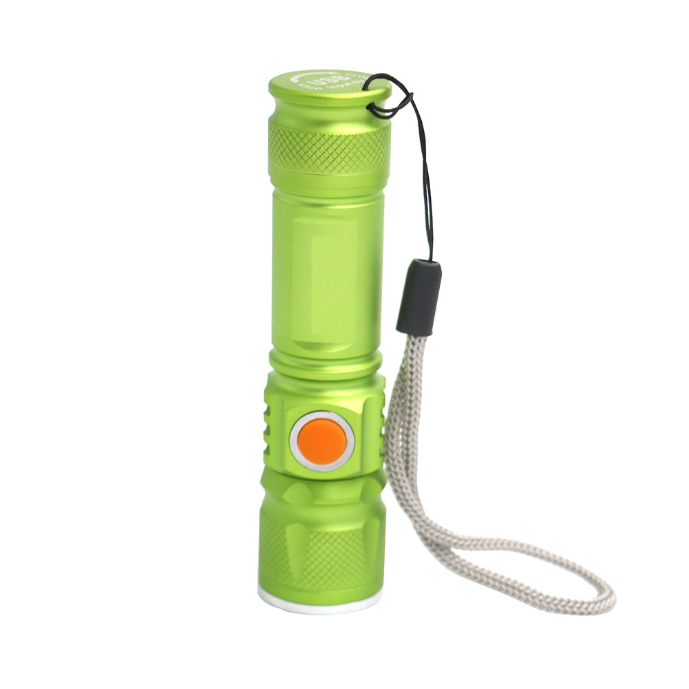 Lanternas e Lanternas portátil usb mini lanterna xm-l Material do Corpo : Liga de Alumínio