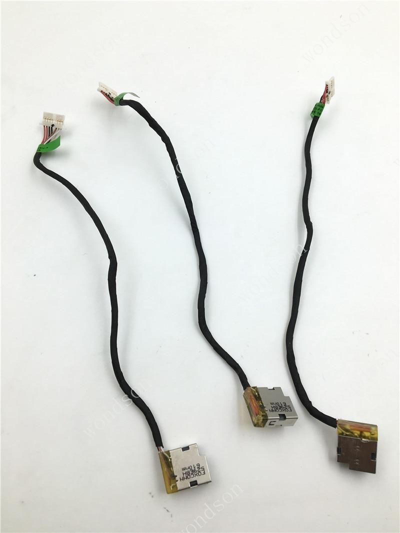 Original  For HP Pavilion 15-AB 15-AK 15T-AB 15T-AK 15Z DC Power Jack With Cable 799749-F17 799749-S17 799749-Y17 799749-T17