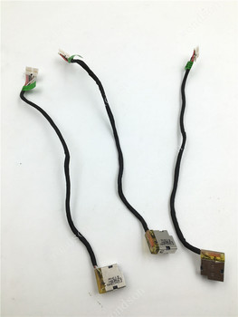 Original For HP Pavilion 15-AB 15-AK 15T-AB 15T-AK 15Z DC Power Jack with Cable 799749-F17 799749-S17 799749-Y17 799749-T17 image