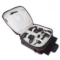 BUBM Video Oyunu Çalar Çanta Kılıfları Sony PS4 PS4 Çantası ince su geçirmez dijital saklama çantası Siyah