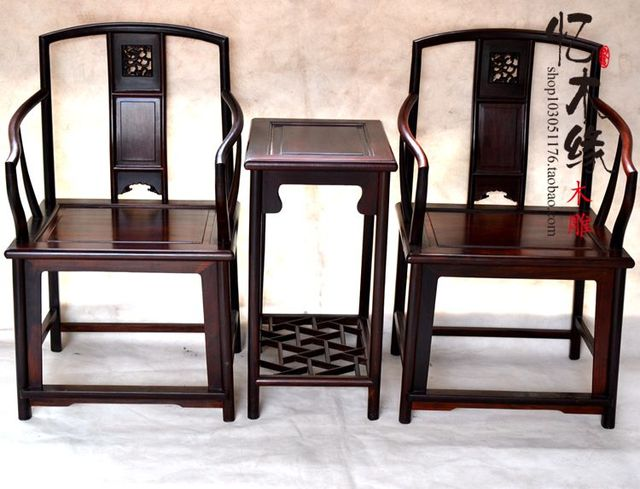 Mahogany Furniture Grenadilla Wood Antique Chair Armchair America Chair  Armchair With Chinese Ming And Qing Dynasties