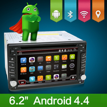 Free shipping!Android quad Core 2 Din Double Car DVD Player,BT Stereo Radio 3G Wifi GPS Audio FM HD TV camera DVR for kia toyota