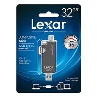 Original Lexar Genuine JumpDrive M20c 16GB 32GB 64GB USB Type C /USB 3.0 Flash Drive|USB Flash Drives|Computer & Office -