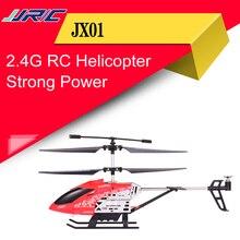 ヘリコプターバロメーター高度ホールド強力なパワーアルミ合金建設ラジオコントロール ドローンとライト JX01 RC