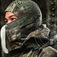 9 стилей боа Стиль Тактический военный охотничий Быстрый капюшон для сушки маска для лица Балаклава ветрозащитный головной убор гремучая Балаклава