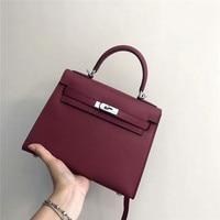 Genuine Leather Shoulder Bags Crossbody Bags for Women Luxury Handbags Women Bags Designer
