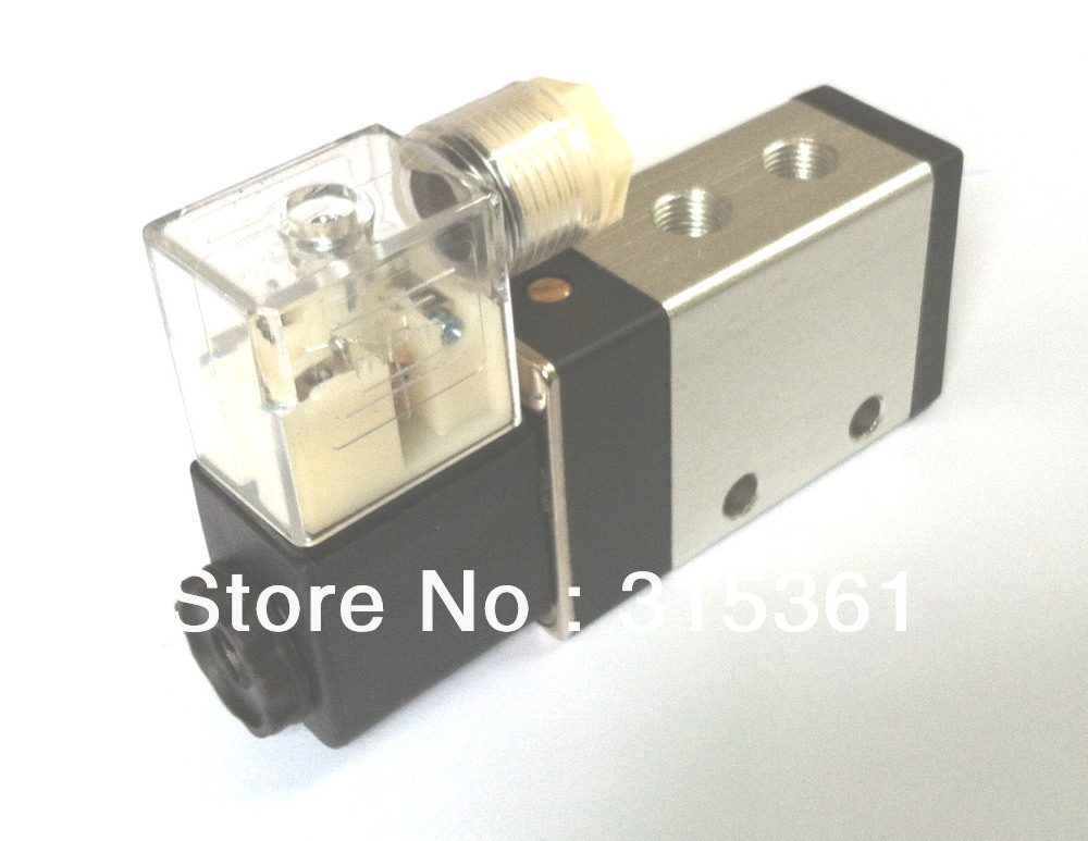 Free Shipping 4/2 way 4 Inner Guide Pneumatic Solenoid Valve 2630600 DC12V,DC24V,AC110V or AC220V dc24v inner guide type 2 position 3 way solenoid valve