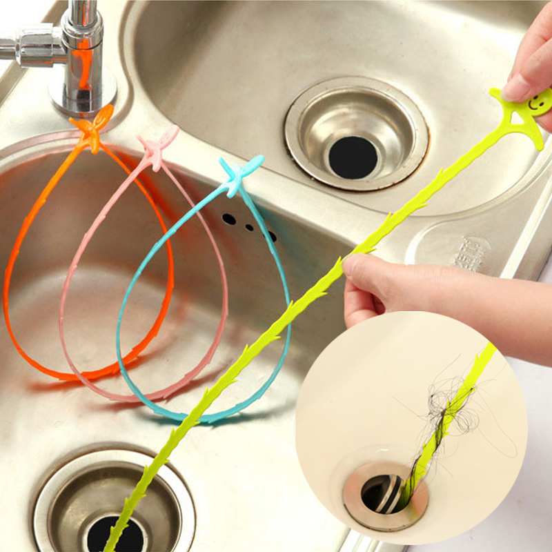 Hot Sale1Pcs Shower Drain Hair Catcher  Clog Sink Strainer Bathroom Cleaning Protector Filter Free Shipping