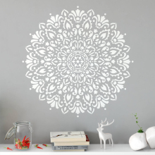Harmony Mandala Decal Create Beautiful Bohemian Wall Vinyl Sticker Great Boho Decor For Living Room MA44