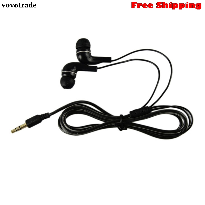toopoot 3.5mm Stereo In Ear Earphone Earbud Headphones Headset for HTC iPad iPhone For Iphone PC Smartphone Mp3  Free Shipping