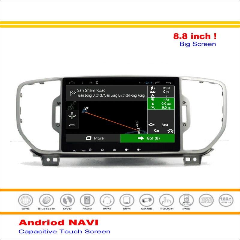 Android Sistema de Navegación GPS del coche Para Kia Sportage (QL)/Kia KX5 2015