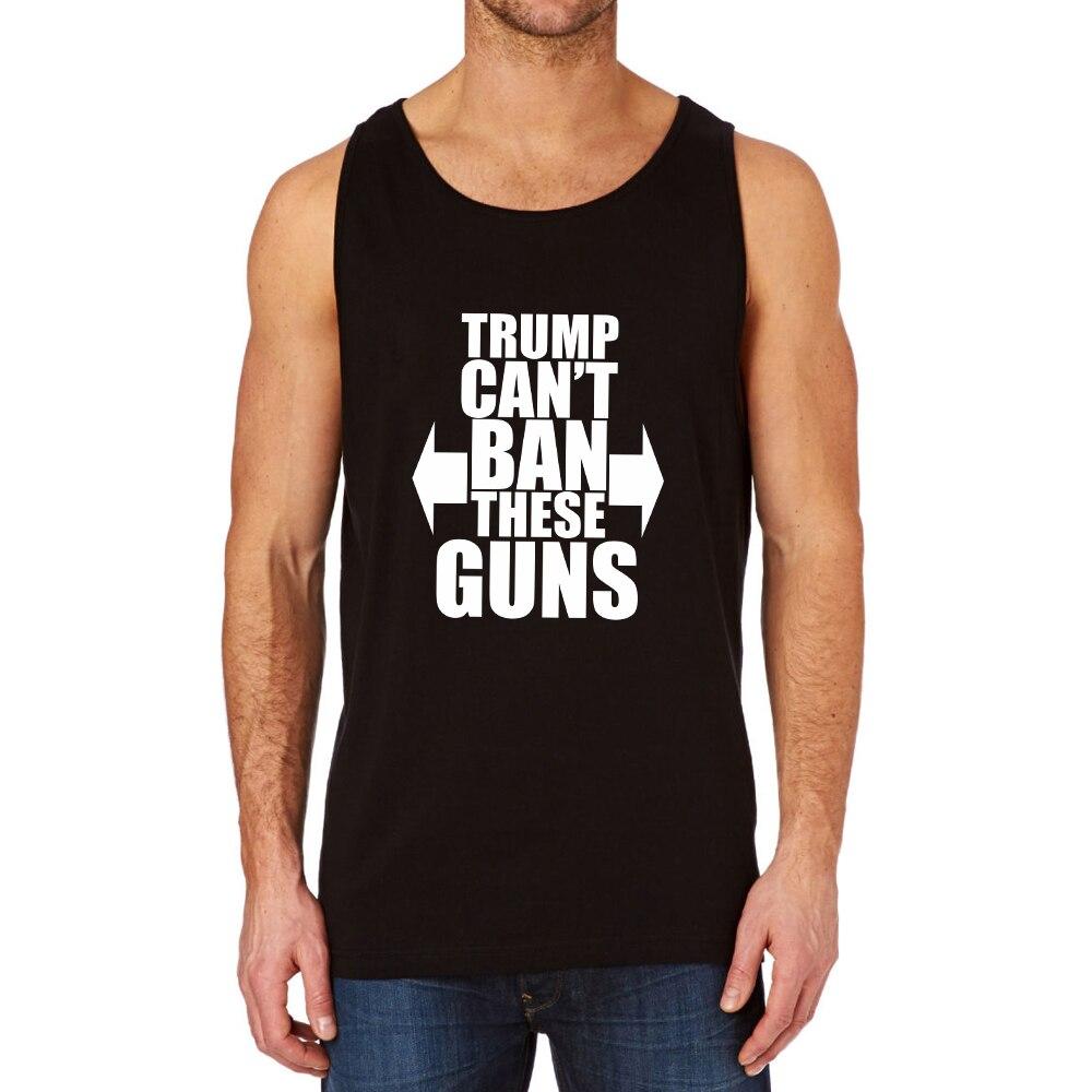 d03bc2e0169c0 ⊰Loo Show Trump Can t Ban These Guns Black Tank Top - a259