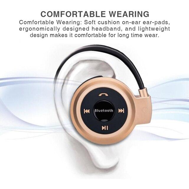Portable sport Bluetooth sans fil casque Support TF carte Radio cou crochet suspendus écouteurs casque pour courir salle de sport