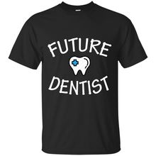 Black, Navy T-Shirt For Men - FUTURE DENTIST  Free shipping newest Fashion Classic Funny Unique gift