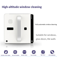 Window Vacuum Cleaner Smart window cleaning robot Remote Control High Suction Anti Falling Washer Robot Sweeper 220V 75W