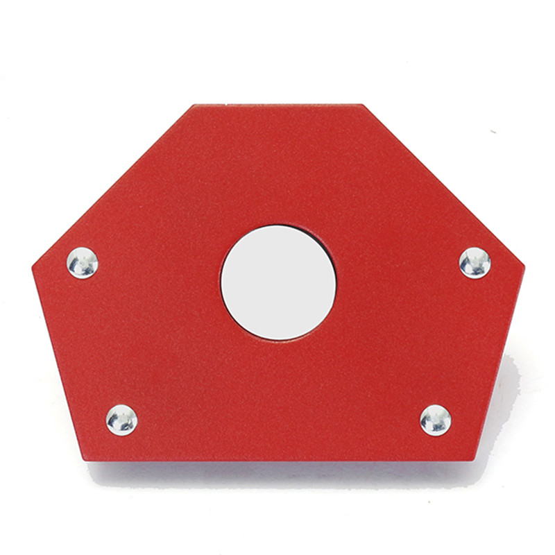 55LBS Strong Magnetic Welding Locator Holder Located Horn Clamp Welding Magnetic Angle Arrow Holder 135 Degree 1 pcs 400mm magnetic strip tool holder knife holder strong magnetic strong load bearing stainless steel kitchen magnetic rack