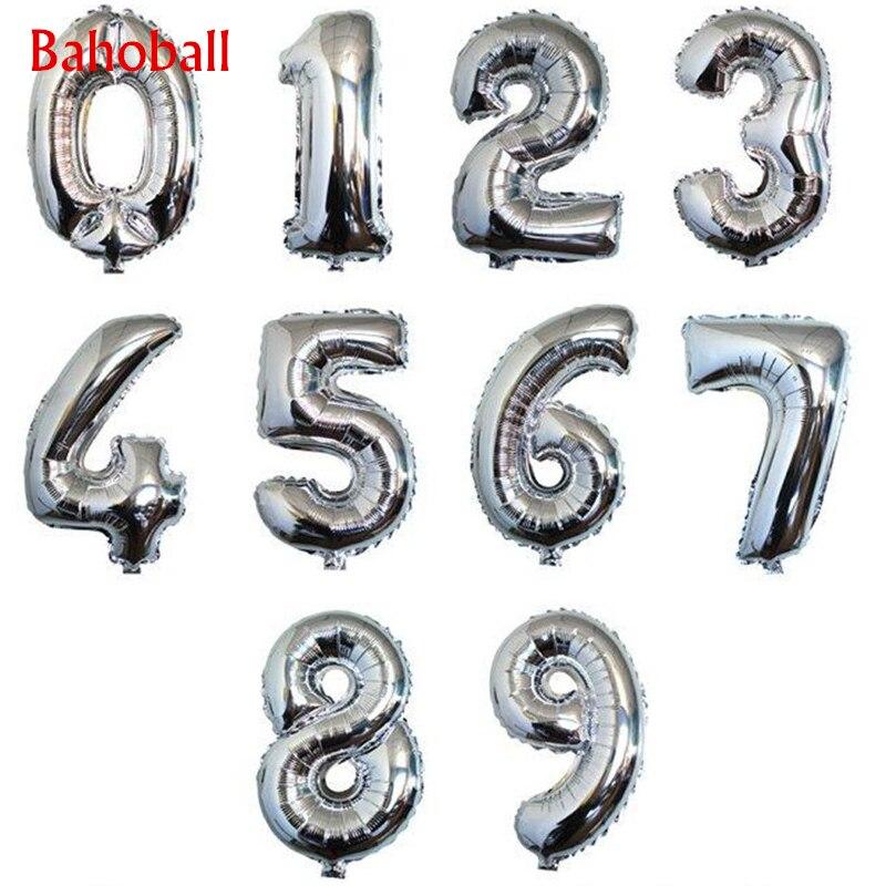 Bonecos flutuantes infláveis para aniversário, bolas de ar de ouro e prata para casamento, 1 peça materiais de decoração