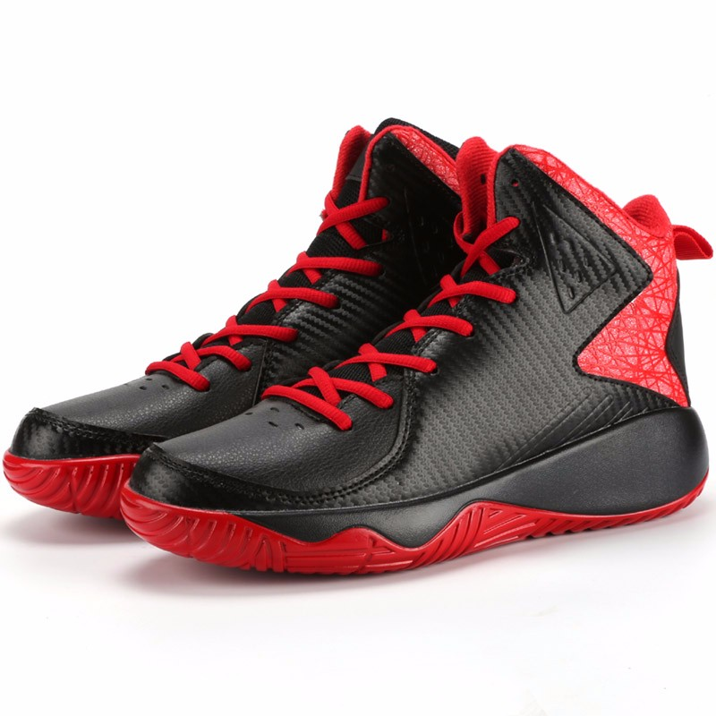 High Top Mens Shoes Casual Lace Up Breathable Trainers Spring Autumn Sport Black White Red Basket Shoes Outdoor Size 39-44 YD43 (23)