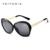 VEITHDIA Liga TR90 óculos Polarizados óculos de Condução óculos de Sol Da Lente do Espelho de Luxo Senhoras das Mulheres Designer De Óculos De Sol Óculos Para As Mulheres 8012