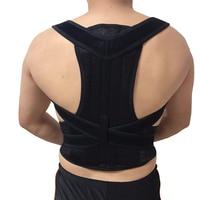 Men's Back Posture Corrector Back Braces Belts Lumbar Support Belt Strap Posture Corset for Men HEALTH CARE AFT B003