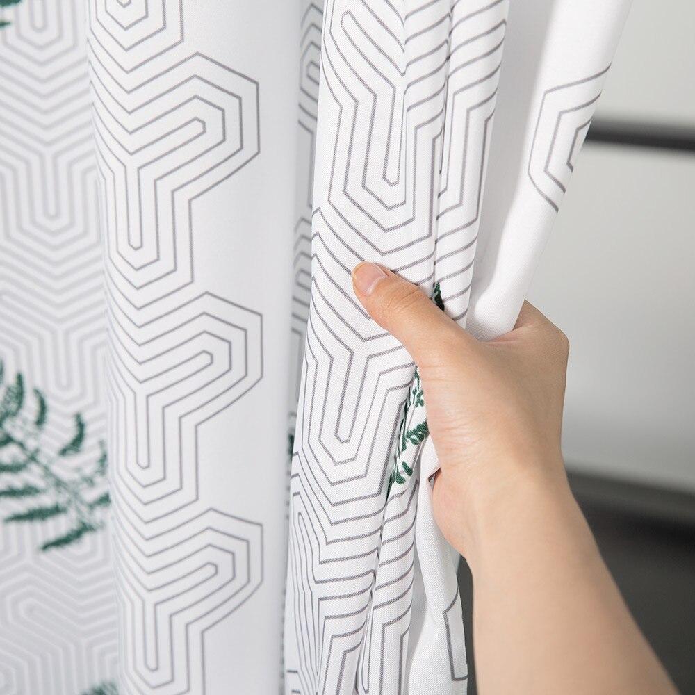 Aimjerry πράσινο φύλλα Custom Κουρτίνα ντους - Οικιακά είδη - Φωτογραφία 3